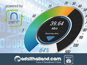 ADSLTHAILAND Speedtest