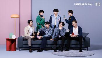 7 หนุ่ม BTS เซอไพรซ์เหล่า A.R.M.Y. กลางไลฟ์อีเวนต์เปิดตัว Galaxy S20 FE