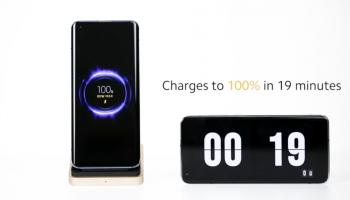 Xiaomi เปิดตัว ชาร์จแบบไร้สาย 80W Mi Wireless Charging Technology ชาร์จเต็ม 100% แบบไร้สายเพียงแค่ 19 นาที