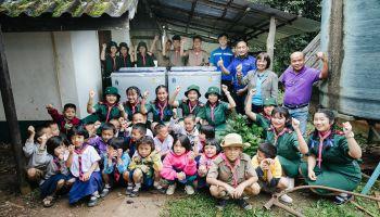 ซัมซุงส่งเสริมสุขอนามัยนักเรียนภาคเหนือ มอบเครื่องซักผ้าแก่ 4 โรงเรียน  ภายใต้โครงการ Samsung Love & Care