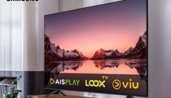 ซื้อทีวี Samsung ดูฟรี AIS Play, LOOX TV และ VIU ตามเงื่อนไขที่กำหนด