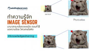 ทำความรู้จักกับ Image sensor - นานาสาระกล้องวงจรปิด ตอนที่ 2