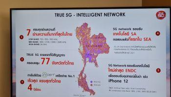 #adslthailand อัปเดตความพร้อม True 5G จับมือพันธมิตร ตอกย้ำผู้นำ 7 ย่านความถี่ รองรับ SA และ ENDC พร้อมลุยเต็มสูบ
