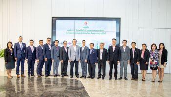 สมาคมโทรคมนาคมแห่งประเทศไทยฯ เยี่ยมชมศูนย์นวัตกรรมโซลูชันและการเรียนรู้ หัวเว่ย ประเทศไทย