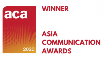 NTT คว้าสองรางวัลซ้อน ในงาน Asia Communication Awards 2020