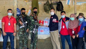 ทรู ร่วมดูแลชาวไทย  ลุยช่วยน้ำท่วม 3 จังหวัดชายแดนใต้