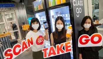 ครั้งแรกในไทย ตู้จําหน่ายสินค้าอัจฉริยะ AI CLASS GO ซื้อสินค้าง่ายๆแค่ Scan – Take – Go