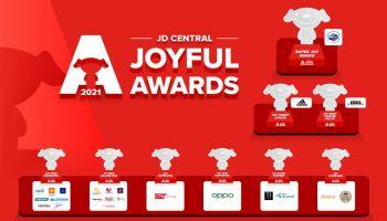 JD CENTRAL เผยทิศทางธุรกิจ ปี 64 พร้อมมอบรางวัลแก่สุดยอดแบรนด์  ในงาน JD CENTRAL JOYFUL AWARDS 2021