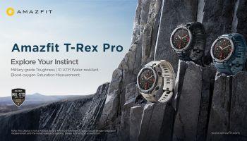 เผยโฉม Amazfit T-Rex Pro นาฬิกาสมาร์ทวอทช์ แบตเตอร์รี่ยาวนานถึง 18 วัน