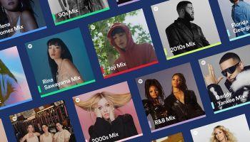 Spotify เปิดตัว Spotify Mixes โฉมใหม่ เพลย์ลิสต์ที่จัดทำเพื่อคุณ นำเสนอศิลปิน แนวเพลง และทศวรรษของเพลงที่เป็นที่ชื่นชอบ