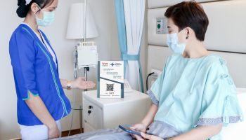 สุดล้ำ! Patient Smart QR Code แพลตฟอร์มดูแลผู้ป่วยอัจฉริยะ เชื่อมต่อเร็วผ่านเครือข่ายอัจฉริยะทรู 5G