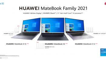 หัวเว่ยเปิดตัว HUAWEI MateBook Family 2021