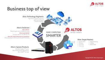 Altos Computing แบรนด์และโซลูชั่นสำหรับองค์กรธุรกิจ อีกหนึ่งความสำเร็จของเอเซอร์ Dual Transformation