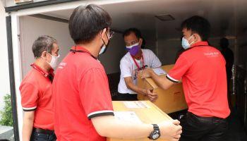 ไปรษณีย์ไทย X MONO 29 จัดส่งกล่อง Happy Box กล่องปันด้วยใจ ช่วยประชาชนบรรเทาผลกระทบ COVID – 19