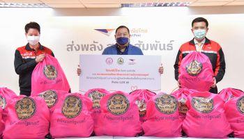 กระทรวงดีอีเอส มอบไปรษณีย์ไทย สนับสนุน พม. จัดส่งถุงยังชีพ รุกช่วยเหลือผู้เปราะบาง – ผู้ป่วยติดเตียงในพื้นที่กรุงเทพฯ