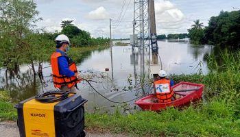 ดีแทค ระดมเครื่องปั่นไฟฉุกเฉินใช้งานสถานีฐานพื้นที่ไฟฟ้าดับในหลายแห่ง ผลกระทบจากน้ำท่วมใหญ่จากพายุเตี้ยนหมู่ พร้อมขยายวันชำระค่าบริการลูกค้ารายเดือนและขยายวันใช้งานลูกค้าเติมเงิน