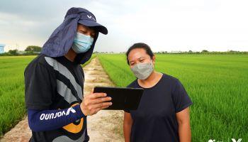 ซัมซุง ร่วมมือ เออาร์วี ผลักดัน Digital Transformation สู่วงการเกษตรกรรมไทย ร่วมสนับสนุนสมาร์ทฟาร์มเมอร์ ชูโซลูชันและโดรนอัจฉริยะฉีดพ่นแปลงเกษตร