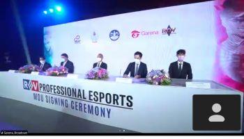 การีนา (ประเทศไทย) - ก.ท่องเที่ยวและกีฬา - การกีฬาแห่งประเทศไทย ลงนาม MOU หนุนอุตสาหกรรมกีฬาอีสปอร์ตไทย ล่าสุดบรรจุแล้วในราชกิจจาฯ ให้เป็นกีฬาอาชีพ