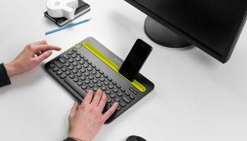 โลจิเทค K480 Bluetooth Multi-Device Keyboard ปรับรูปแบบการใช้งานได้ทั้งงานและการพักผ่อน