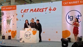 """iget Mart"" by CAT ตลาดดิจิทัล 4.0 ขยายโอกาสผู้ซื้อ-ขาย ช้อปปิ้งสะดวก"