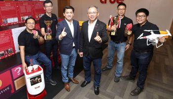 """กลุ่มทรู คว้า 6 รางวัลนวัตกรรมระดับสากลในเวทีการประกวด """"International Invention & Design Competition (IIDC) 2018"""" ณ ฮ่องกง"""