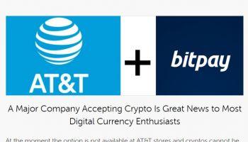 AT&T บริษัทที่มีรายได้สูงอันดับ 9 ของโลก รับชำระบิลด้วย Bitcoin ทั้ง BCH และ BTC