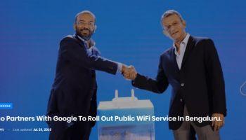 Cisco จับมือกับ Google เตรียมให้บริการ Free Wi-Fi บน gStation ปูพรมอินเดีย อนาคตในประเทศไทย