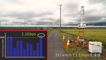 ครั้งแรกของโลก ญี่ปุ่นวางสถานี 5G ข้างรถไฟฟ้าความเร็วสูง ระยะ 500 เมตร รับส่งภาพ 8K สำเร็จ ความเร็วทะลุ 1 Gbps