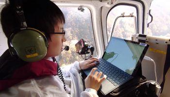ญี่ปุ่น ยกสถานีฐาน 4G ลอยฟ้าขึ้นเฮลิคอปเตอร์ กู้ภัยในรัศมี 2 กม. ล็อค GPS ค้นหมายเลขผู้ใช้งานทันที