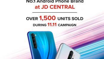 เสียวหมี่ สรุปยอดขายแคมเปญ 11.11 ในไทย เป็นที่ 1 กลุ่ม Android Phone บน JD Central และใน Southeast Asia เป็นที่หนึ่งในกลุ่มมือถือและแทบเลตบน Lazada