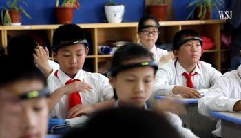 จีนเบรค AI อุปกรณ์คาดศีรษะมอนิเตอร์ เจาะลึกพฤติกรรมนักเรียนประถม ชี้ปัญหาการ Download เน็ตและเด็กกดดัน