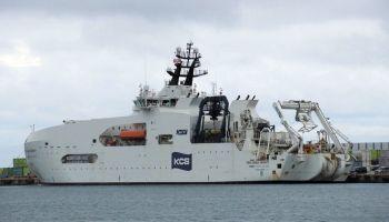 เรือวางสายเคเบิลรุ่นใหม่ของญี่ปุ่น วางระบบ 80 Tbps รับ 5G เทคโนโลยี D-GPS เดินเครื่องบนเส้นทางแนวพายุใต้ฝุ่น