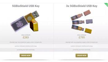 แบบนี้ก็มีด้วย!? อ้างแฟลชไดร์ฟ ป้องกัน 5G (anti-5G USB stick) ราคาเป็นหมื่น ที่แท้ความจุแค่ 128MB