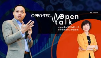 เกาะเทรนด์ New Normal ทีซีซีเทคจับมือพันธมิตร  ผลิต open talk รายการไอทีวาไรตี้ ผ่าน collaborations tools