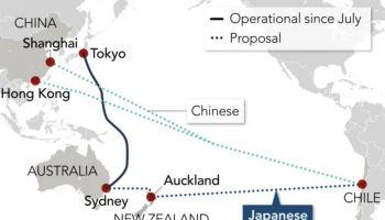 หักหน้าจีน ซิลีตัดสินใจเลือกเส้นทางเคเบิลใยแก้วนำแสงของประเทศญี่ปุ่น เชื่อมต่ออินเทอร์เน็ตทั่วเอเชีย
