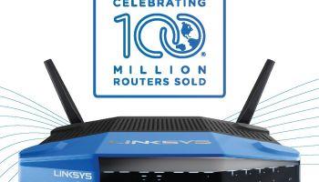 สร้างสถิติใหม่ LINKSYS เป็นผู้ผลิตรายแรกที่ขายเราเตอร์ได้มากกว่า 100 ล้านเครื่อง