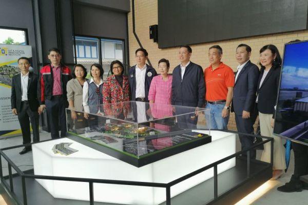 Adslthailand ร่วมกับ MDES พาเยี่ยมชม Thailand Digital Valley (Digital Park Thailand) เพิ่มประสิทธิภาพโครงข่ายอินเทอร์เน็ตระหว่างประเทศ (ASEAN Digital Hub)