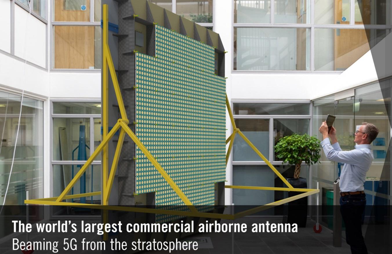ผู้ใช้ตะลึง เยอรมันยกเสา 5G คลื่น 2100 MHz ขึ้นฟ้าด้วยโดรน ทำความเร็ว 100Gbps รัศมี 140 กิโลเมตร