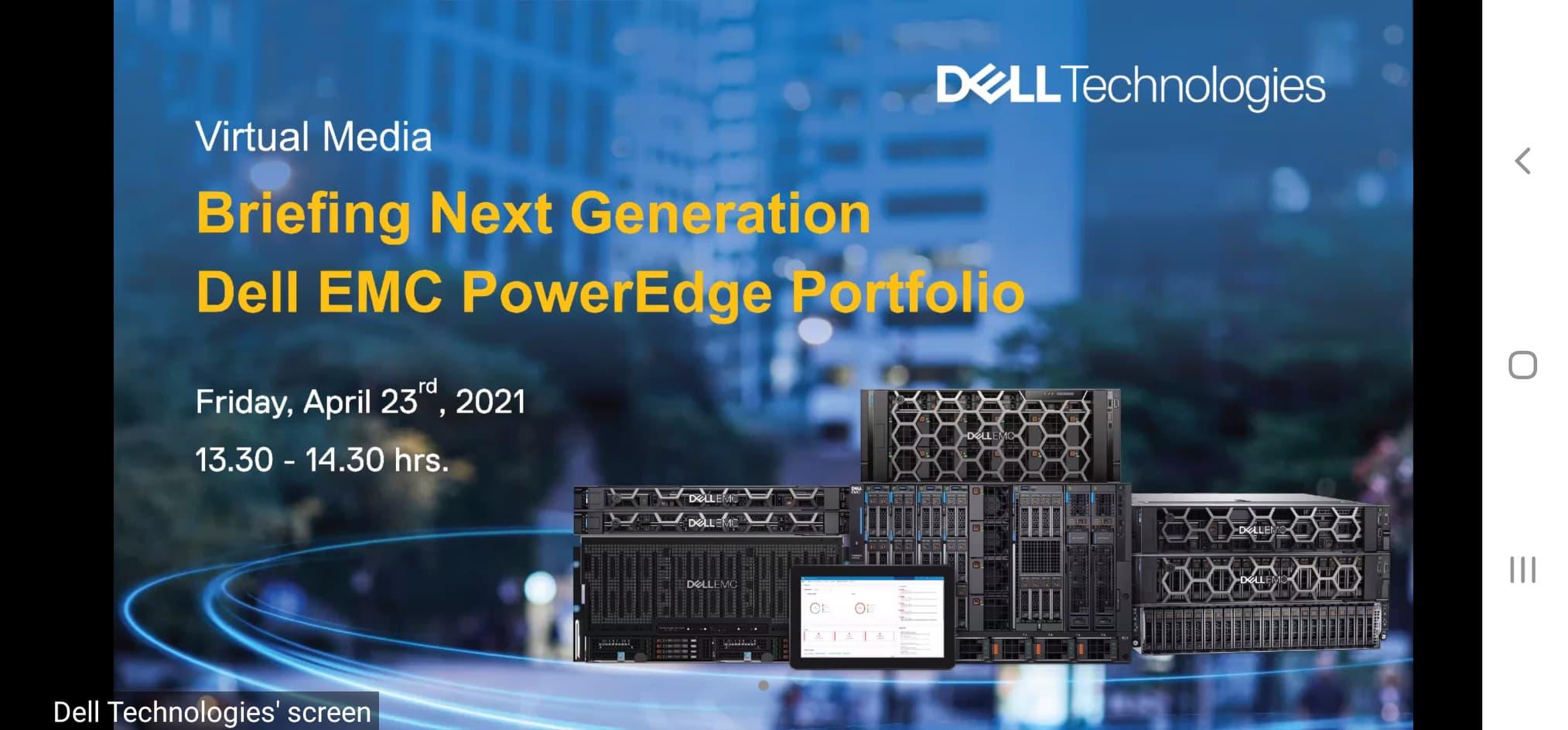 เดลล์ เทคโนโลยีส์ เปิดตัว เน็กซ์เจน PowerEdge เซิร์ฟเวอร์ แกนพลังขับเคลื่อน AI พร้อมเอดจ์ คอมพิวติ้ง สายผลิตภัณฑ์ Dell EMC PowerEdge