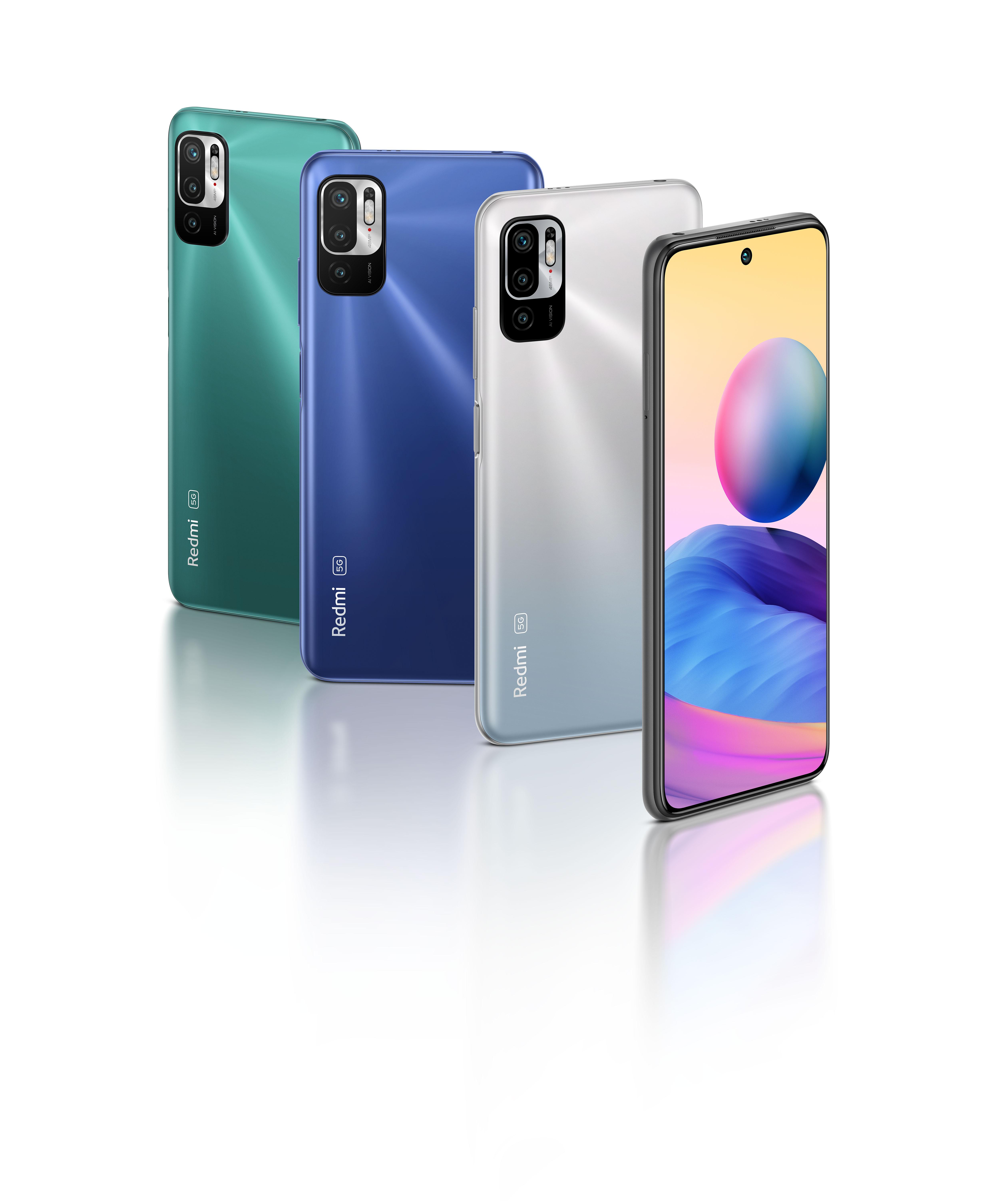 เปิดตัว Redmi Note 10 5G และ Redmi Note 10S พร้อม Mi Smart Band 6 ร่วมด้วย Mi TV P1 Series และ Mi TV Q1