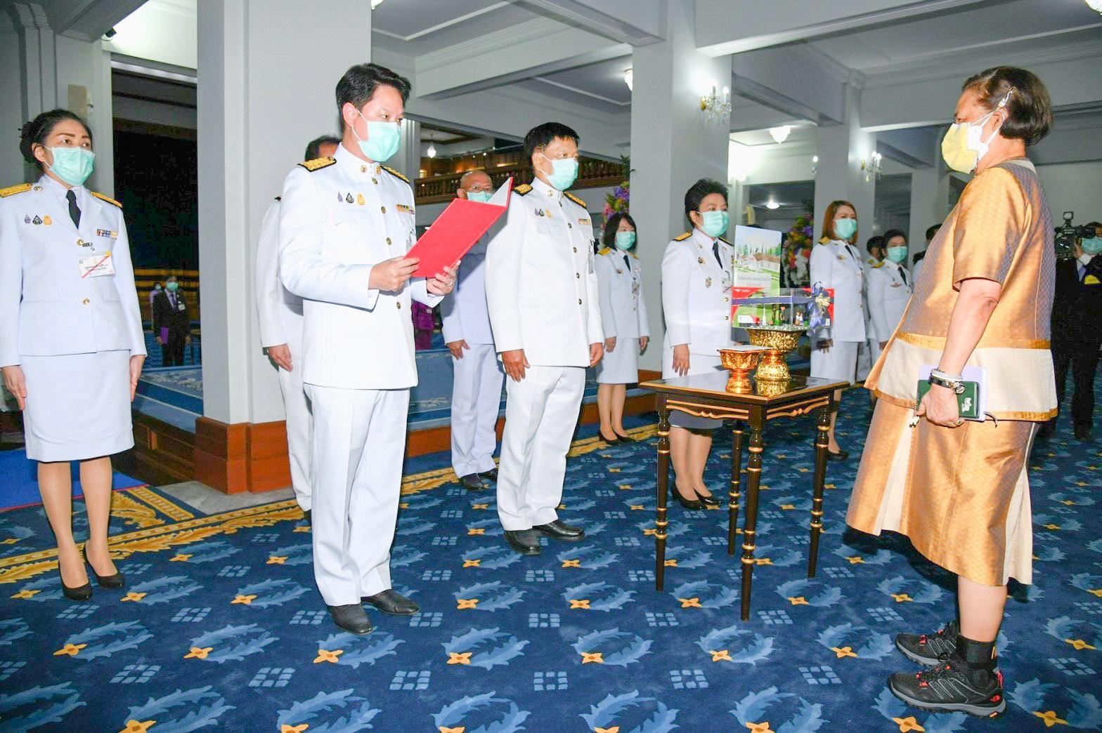 ไปรษณีย์ไทยทูลเกล้าฯ ถวายเงินสร้างอาคารเรียนโรงเรียนตำรวจตะเวนชายแดน จ.อุดรธานี
