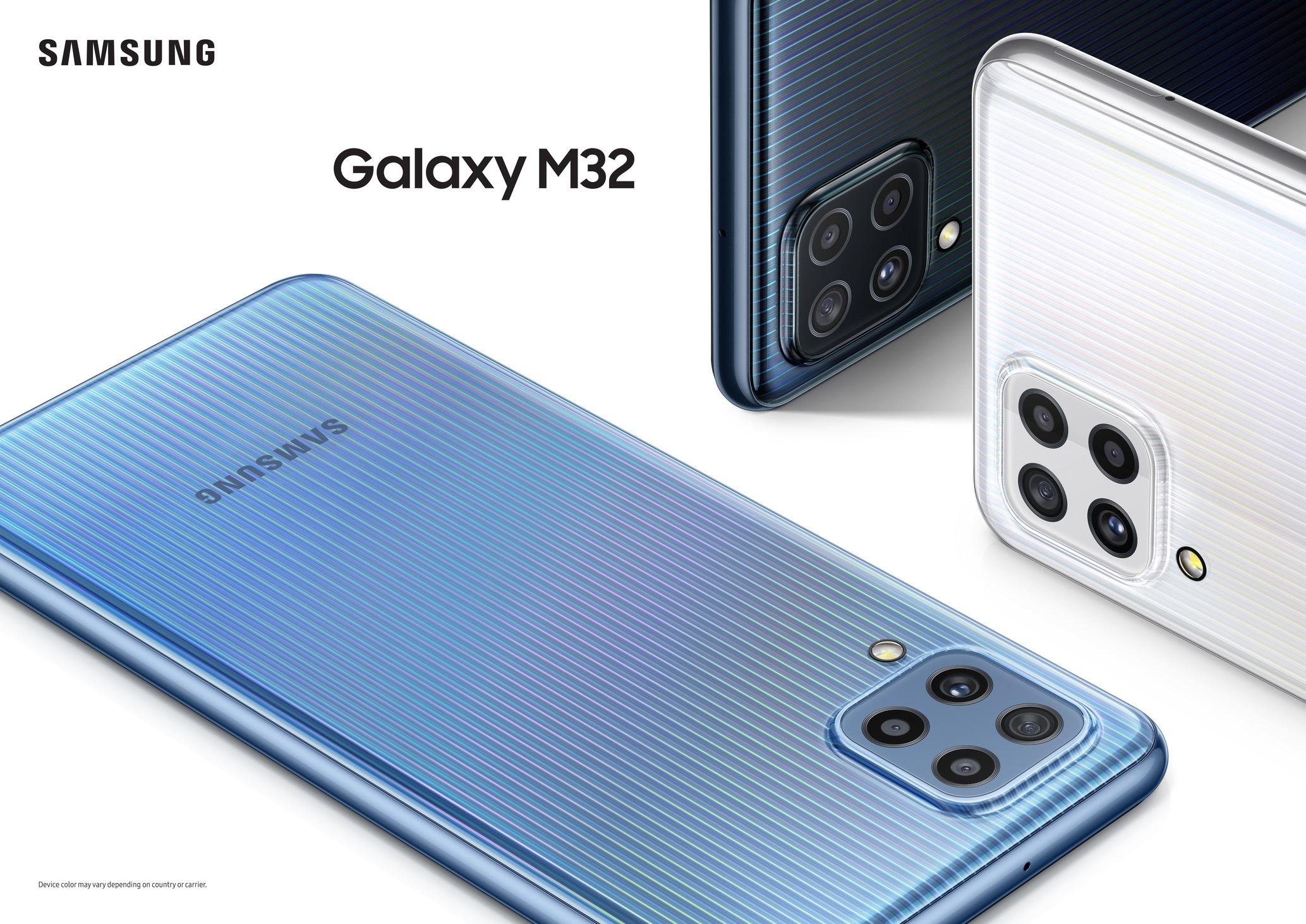 ดีลสุดคุ้ม Samsung Galaxy M32 สมาร์ทโฟนสเปคแรงสำหรับสายเอนเตอร์เทน เริ่ม Pre-Sale วันแรก 11 ก.ค.นี้ ที่ Lazada เท่านั้น