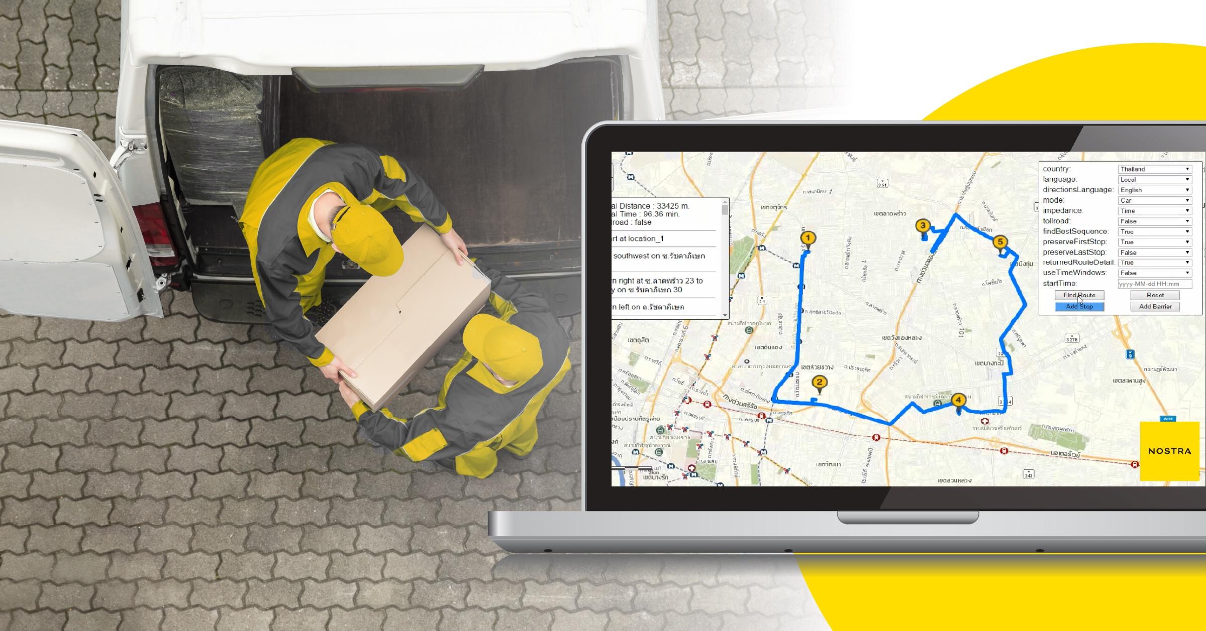 NOSTRA ส่งซูโลชัน Online Map Service เสริมแกร่งธุรกิจขนส่งและโลจิสติกส์ ฝ่าความท้าทายในเรด โอเชี่ยน