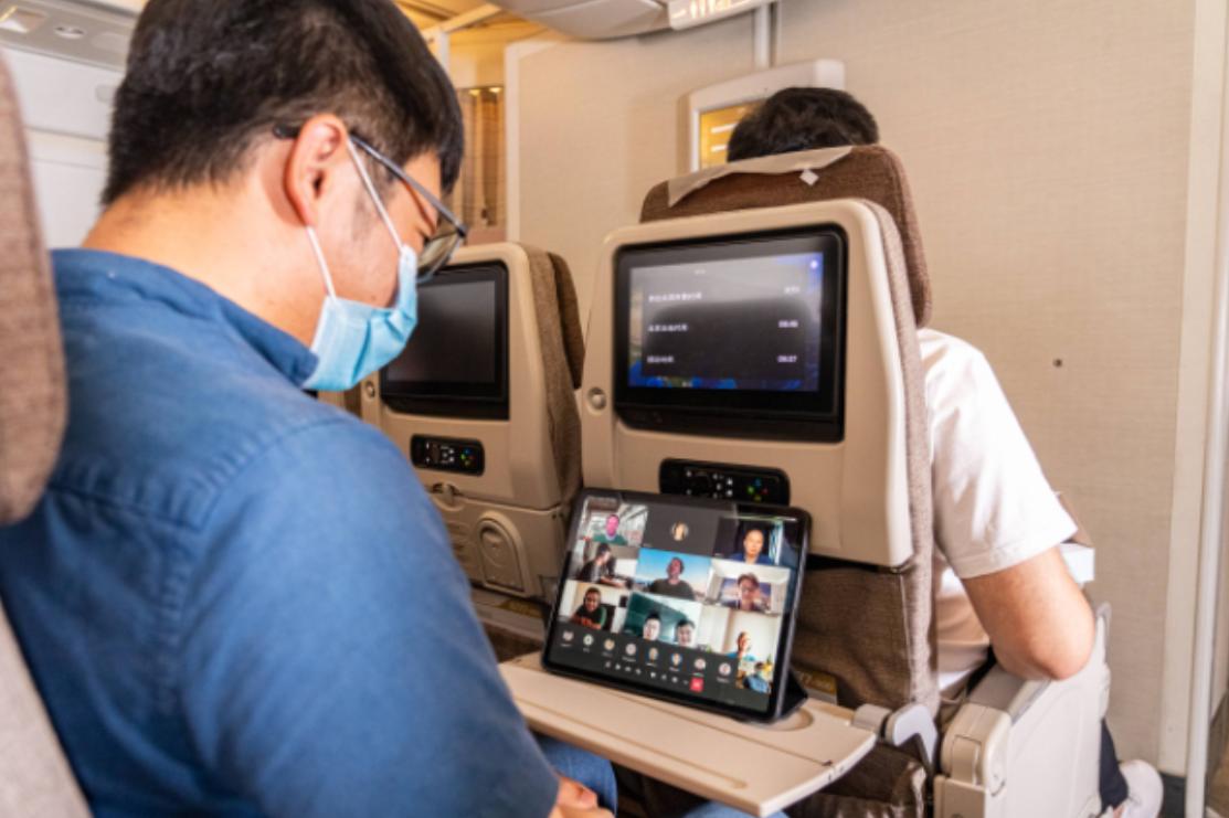 China Eastern Airlines ประกาศความสำเร็จ ในการให้บริการ อินเตอร์เน็ตความเร็วสูงผ่านโครงข่ายดาวเทียม 6D  ในภูมิภาคเอเชียแปซิฟิก