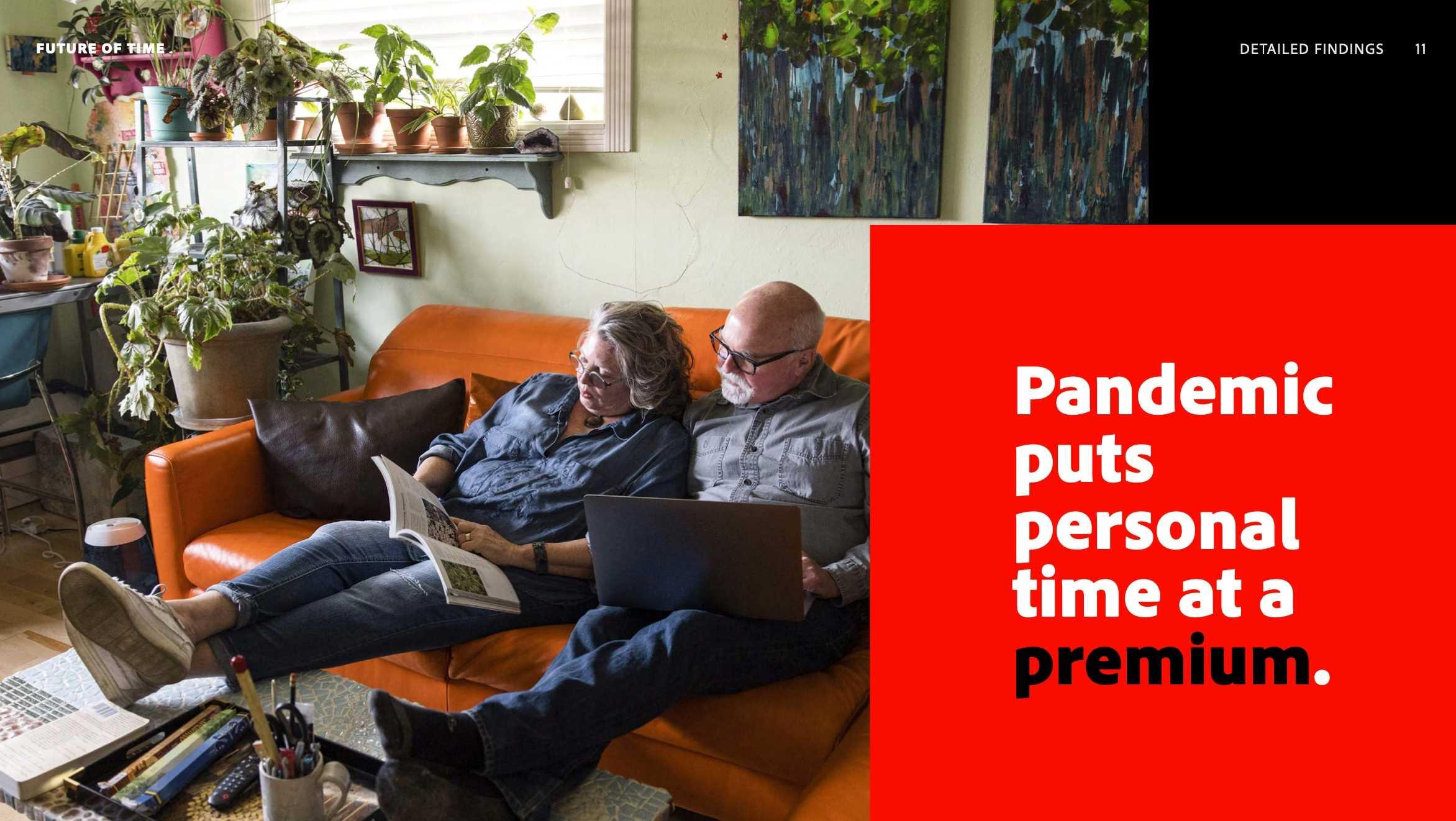 อะโดบีเผยผลการศึกษาเกี่ยวกับผลกระทบของการแพร่ระบาดที่มีต่อ เวลาทำงาน และชีวิตส่วนตัว