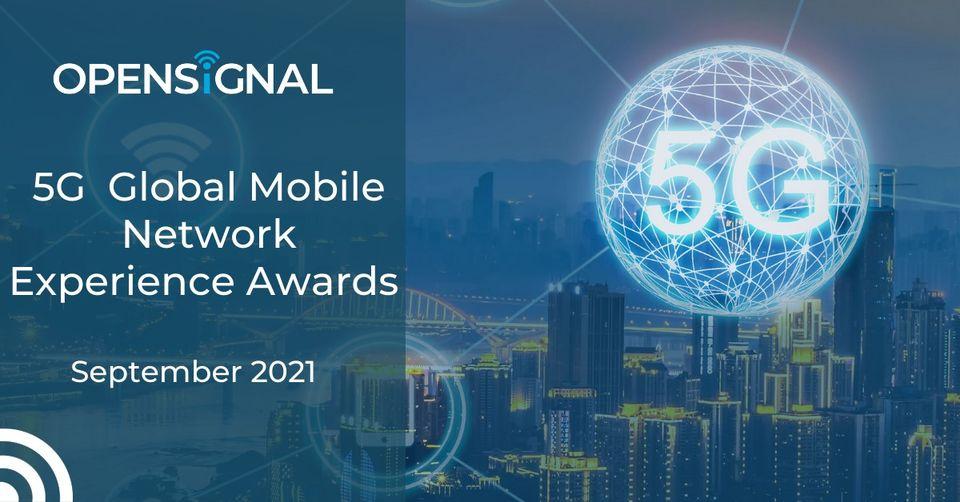 Opensignal ประกาศรางวัลประสบการณ์เครือข่ายมือถือ 5G ระดับโลก ประจำปี 2564